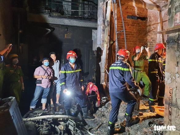 Nguyên nhân ban đầu vụ cháy ở quận 11 làm 8 người chết - Ảnh 1.