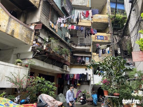 Cải tạo chung cư cũ: Hà Nội phân cấp cho quận, huyện lựa chọn kiểm định - Ảnh 2.
