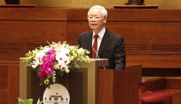 Tổng bí thư Nguyễn Phú Trọng: Cứ làm đi, có hiệu quả, dân tin - Ảnh 1.