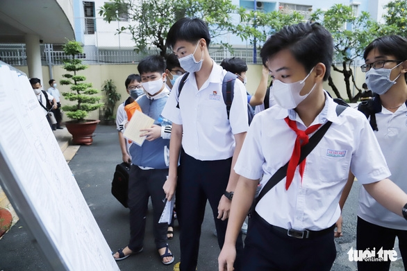Sở GD-ĐT TP.HCM sẽ tham mưu phương án tuyển sinh lớp 10 phù hợp tình hình - Ảnh 1.