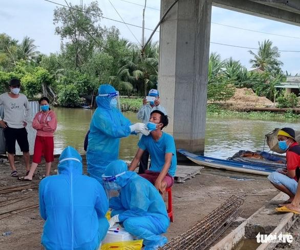 Hơn 1.000 công nhân đường cao tốc Trung Lương - Mỹ Thuận âm tính với SARS-CoV-2 - Ảnh 1.