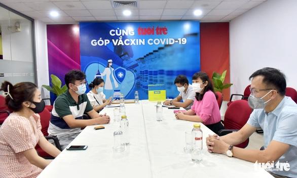 Công ty Hàn ủng hộ 100 triệu đồng 'góp vắc xin COVID-19 - Ảnh 1.