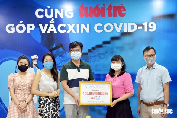 Công ty Hàn ủng hộ 100 triệu đồng 'góp vắc xin COVID-19 - Ảnh 4.