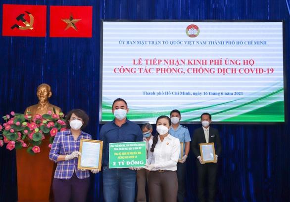 Quỹ Phát triển Tài năng Việt tiếp sức TP.HCM chống dịch - Ảnh 1.