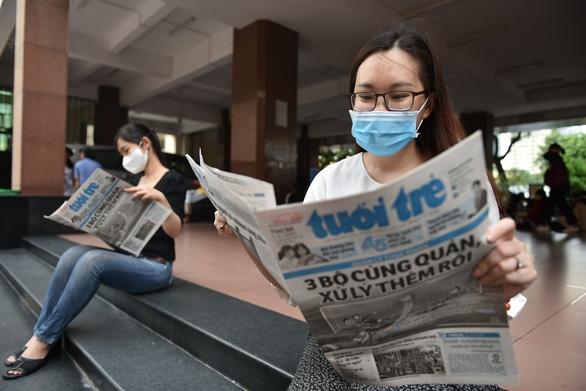 Người đọc sẽ cầm trên tay tờ báo có mình trong ấy - Ảnh 1.