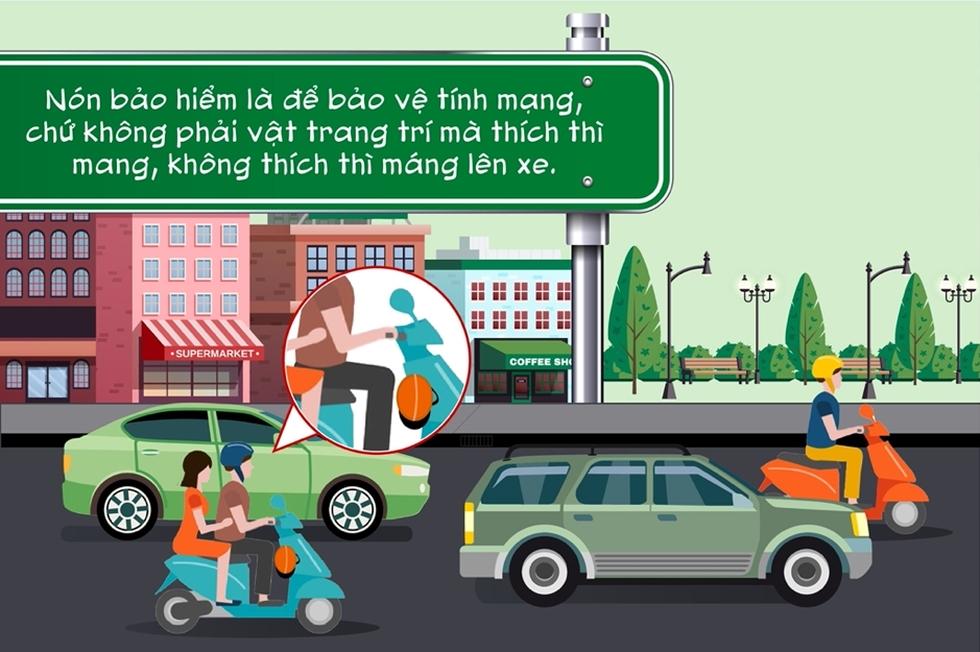 Điểm danh những hành vi kém văn minh giao thông người đi xe máy thường mắc phải - Ảnh 3.