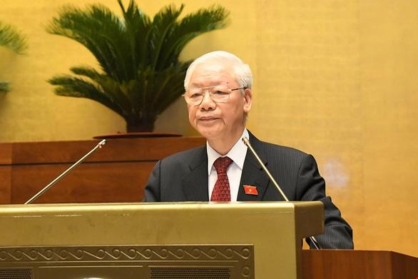 Tổng bí thư Nguyễn Phú Trọng: Quốc hội ưu tiên xây dựng mới luật ở các lĩnh vực trọng điểm - Ảnh 1.