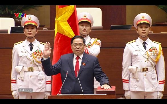 Ông Phạm Minh Chính tái đắc cử Thủ tướng Chính phủ - Ảnh 1.