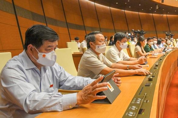 Quốc hội đồng ý giảm 1 phó thủ tướng trong nhiệm kỳ 2021-2026 - Ảnh 1.