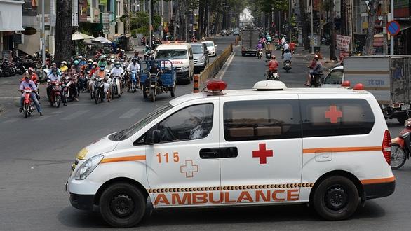 TP.HCM tăng đường truyền và nhân lực để đáp ứng tất cả cuộc gọi cấp cứu qua tổng đài 115 - Ảnh 1.