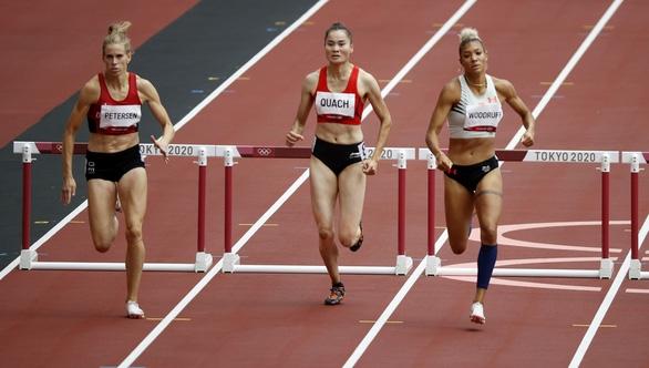 Quách Thị Lan vào bán kết 400m rào nữ tại Olympic 2020 - Ảnh 1.