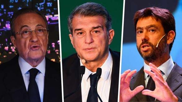 Real, Barca và Juve thắng UEFA, dự án Super League tiếp tục - Ảnh 1.