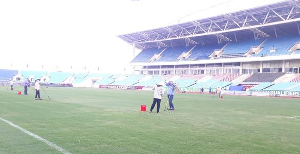 Sân Mỹ Đình đã sẵn sàng cho trận đấu giữa đội tuyển Việt Nam và Úc - Ảnh 3.