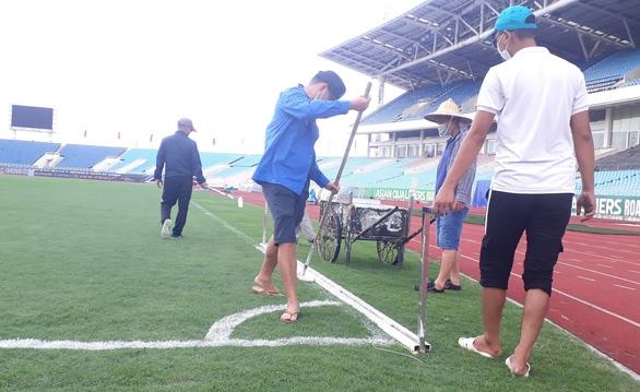 Sân Mỹ Đình đã sẵn sàng cho trận đấu giữa đội tuyển Việt Nam và Úc - Ảnh 4.
