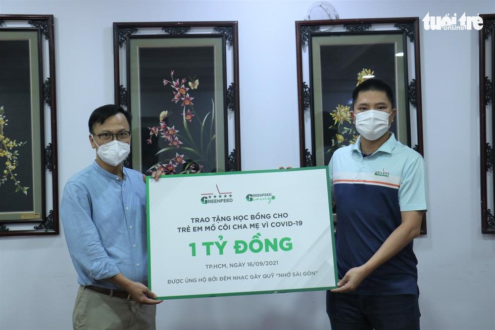 Công ty cổ phần GREENFEED Việt Nam tặng 1 tỉ đồng cho trẻ em mồ côi vì COVID-19 - Ảnh 2.