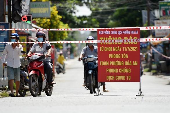 Dỡ phong tỏa 7 phường TP Biên Hòa sau hơn 2 tháng - Ảnh 1.