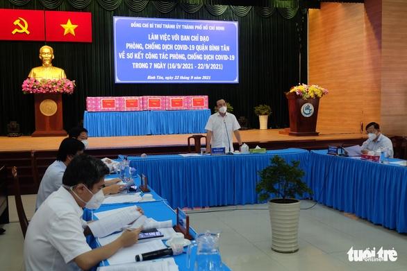 Bí thư Nguyễn Văn Nên: TP.HCM chuẩn bị 11 chiến lược cho bình thường mới - Ảnh 1.