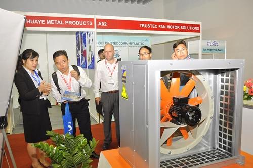 HVACR Việt Nam sẽ trưng bày các thiết bị công nghệ và hệ thống máy móc trong khu vực.