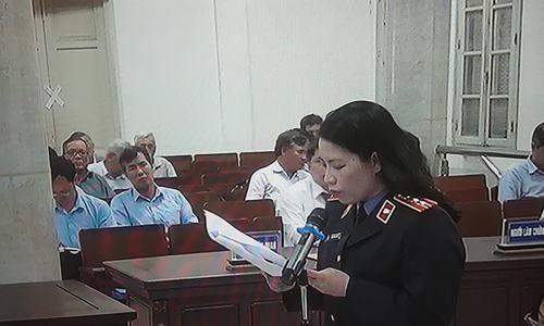 Đề nghị mức án nhóm cựu cán bộ tắc trách khiến vỡ ông nước sông Đà