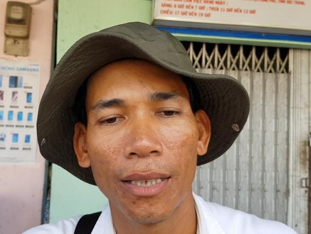 Anh Kim Thái - người gây sốc trong kỳ thi tuyển cán bộ ở Sóc Trăng.