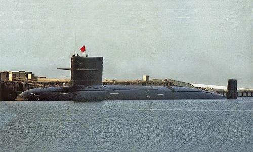 Một tàu ngầm tấn công hạt nhân Type-093 của Trung Quốc. Ảnh: Popular Science.