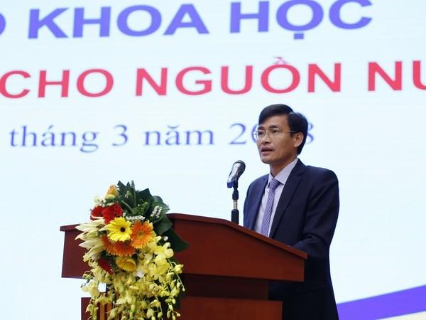 Thứ trưởng Bộ Tài nguyên và Môi trường Trần Quý Kiên.