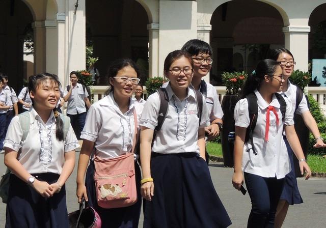 Khoảng 105.000 học sinh ở TPHCM sẽ thi vào lớp 10 vào đầu tháng 6 tới