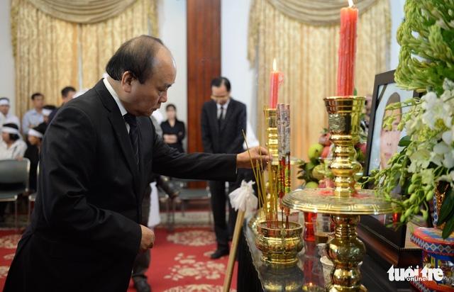 Quốc tang nguyên Thủ tướng Phan Văn Khải - Ảnh 1.