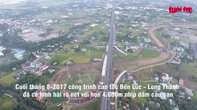 Hạ tầng giao thông Long An phát triển vượt trội nhờ tuyến cao tốc Bến Lức – Long Thành
