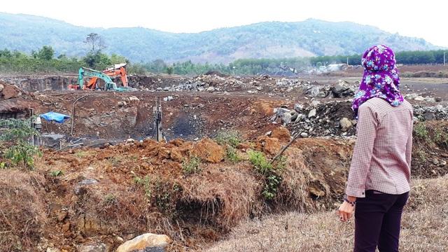 Mỏ đá của Công ty Quang Đức tại xã Ia Bă bị tạm dừng hoạt động