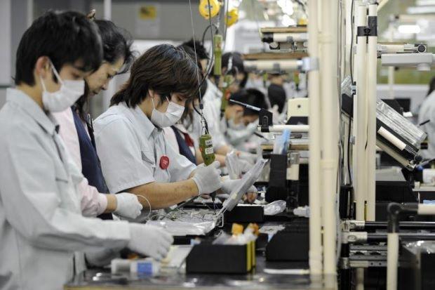 Bên trong một nhà máy tại Nhật Bản (Ảnh: Financial Tribune)