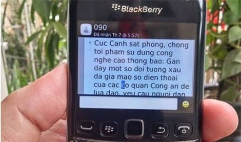 """Cơ quan công an đã phối hợp với nhà mạng nhắn tin cảnh báo nhưng vẫn có người """"sập bẫy"""".(ảnh minh họa)"""