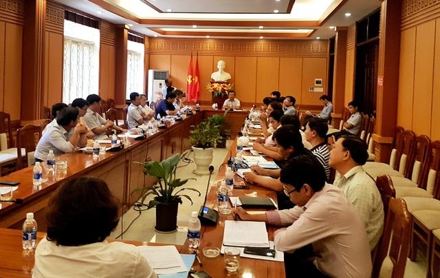 """Chính quyền TP Hội An họp để bàn về dự án Gami Hội An cũng như vở diễn """"Ký ức Hội An""""."""