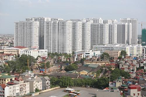 Một dự án chung cư tại Hà Nội. Ảnh: Ngọc Thành