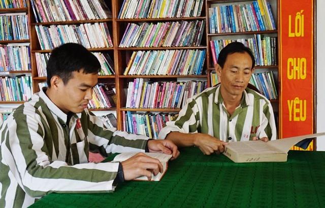 Văn hóa đọc đã được hình thành trong trại giam, góp phần cảm hóa và bồi đắp khát vọng hoàn lương cho các phạm nhân