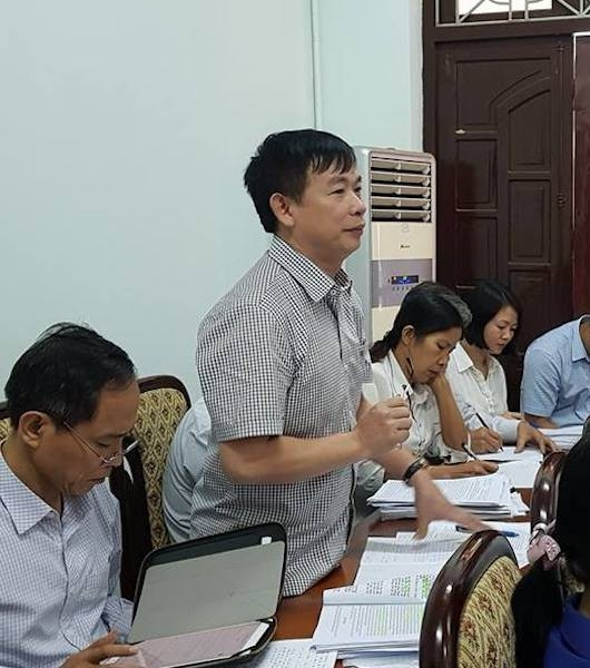 Ông Nguyễn Văn Duy - Giám đốc Trung tâm phát triển quỹ đất và Cụm công nghiệp TP Bắc Giang thừa nhận dự án này từng được phát hiện những sai phạm như lập khống hồ sơ để nhận tiền đền bù từ ngân sách nhà nước.