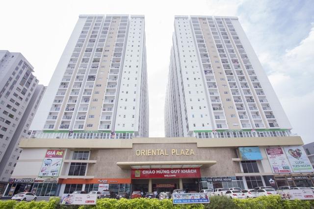 Chủ đầu tư dự án Oriental Plaza cam kết trao sổ hồng sau 6 tháng từ ngày ký hợp đồng mua bán