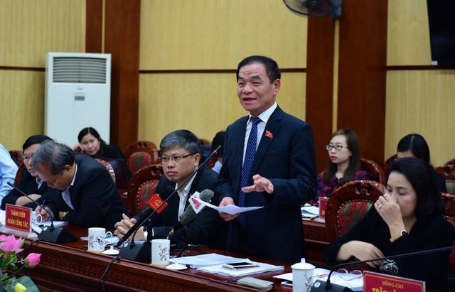 Đại biểu Quốc hội Lê Thanh Vân, Ủy viên thường trực Ủy ban Tài chính-Ngân sách Quốc hội đã có nhiều ý kiến xác đáng về công tác nhân sự của Đảng