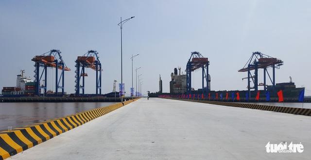 Hải Phòng dưa vào sử dụng cảng nước sâu 6.000 tỉ đồng - Ảnh 1.