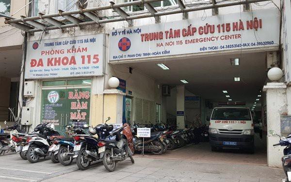Trung tâm Cấp cứu 115 Hà Nội