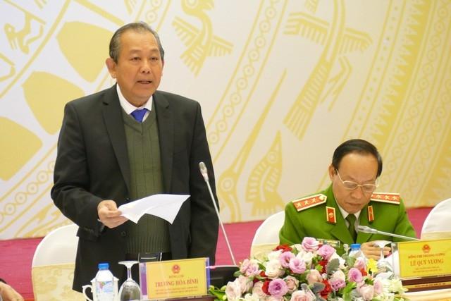 Phó Thủ tướng Trương Hòa Bình chỉ đạo về thanh tra đất đai tại TP.HCM - Ảnh 1.