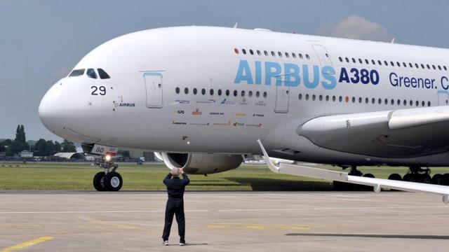 A380 là máy bay chở khách lớn nhất thế giới (Ảnh: Bloomberg)