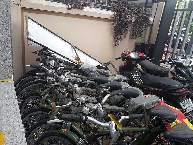 Xe đạp tuần tra Công an Hà Nội 'đắp chiếu' - ảnh 1