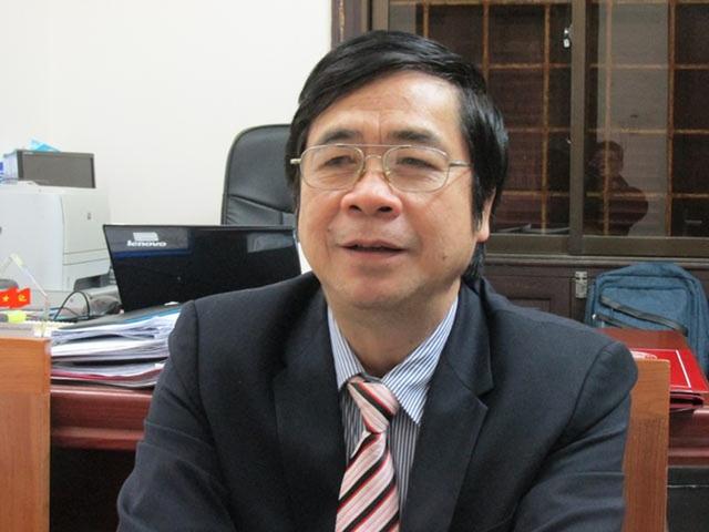 PGS.TS Nguyễn Minh Tuấn - Viện trưởng Viện Xây dựng Đảng, Học viện Chính trị Quốc gia Hồ Chí Minh.