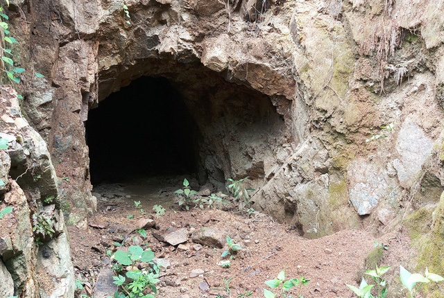 Một hầm khai thác của Công ty TNHH Trung Hiệp