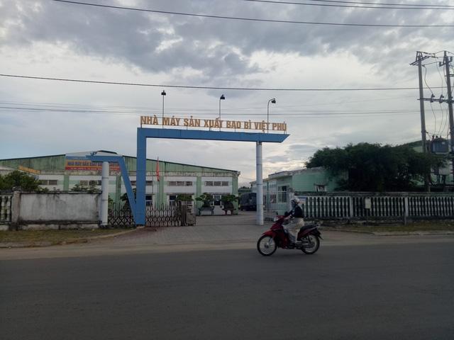 : Chi cục Thi hành án TP. Quảng Ngãi đã có quyết định thi hành án, kê biên tài sản trên đất của công ty Việt Phú để đảm bảo cho việc thanh toán nợ ngân hàng theo các hợp đồng vay