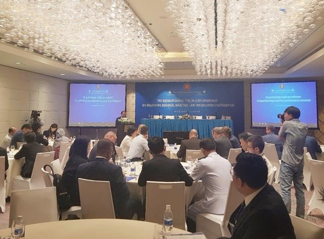Hội thảo Diễn đàn Khu vực ASEAN (ARF) do Bộ Ngoại giao Việt Nam đồng chủ trì với Úc và EU về tăng cường thực thi luật pháp trên biển