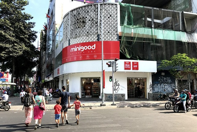 Căn nhà số 211 Nguyễn Thái Học được cho thuê để kinh doanh.