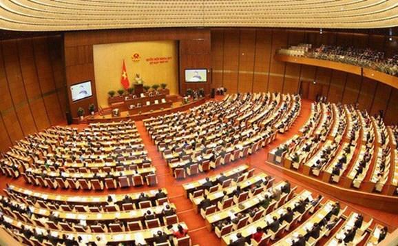 Quang cảnh Kỳ họp thứ tư, Quốc hội khoá XIV . Ảnh: TTXVN