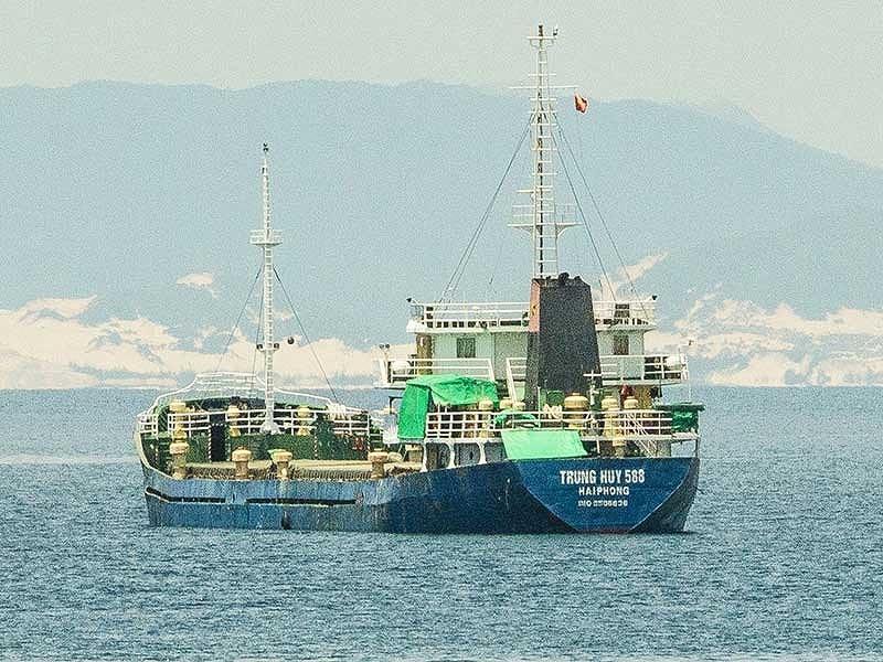 Một tàu biển bị giữ vô cớ cả tháng - ảnh 1